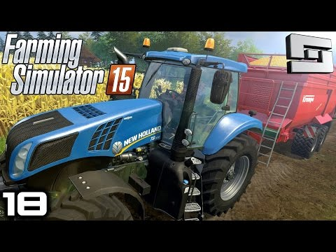 Farming Simulator 2015 : COW MANURE YAY! ( Gameplay ) E18