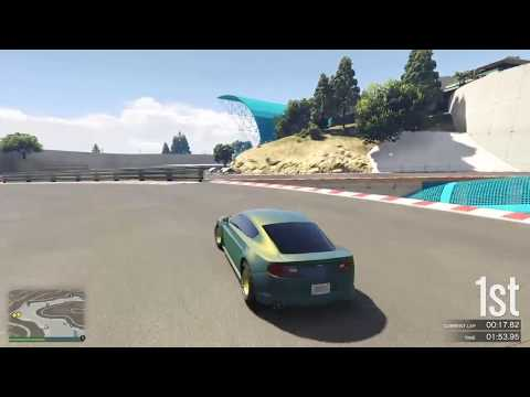 GTA 5 Race - Woodford Park