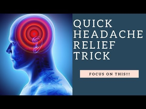Get Headache Relief FAST By Stretching & Massaging Your Suboccipital Muscles!