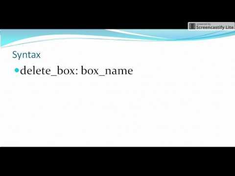 Autosys Tutorials : delete_box attribute