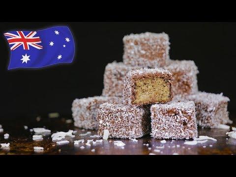 How To Make Lamingtons (Most Famous Australian Dessert)
