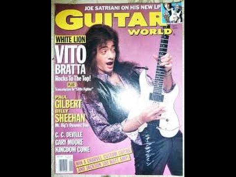 Do YOU Like VITO BRATTA??? WHITE LION - RADAR LOVE  - Guitar Lesson by Mike Gross