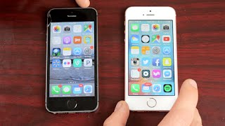 iPhone SE vs. iPhone 5S - What