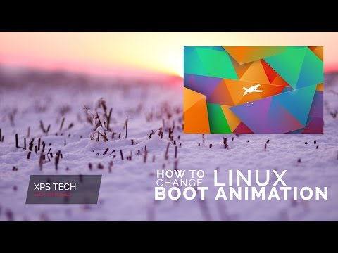 LIVE DEMO: HOW TO CHANGE LINUX BOOT ANIMATION [ PLYMOUTH ]