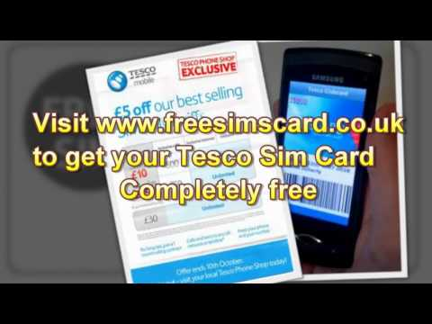 Gsm Cards_ Get Up To 4 Free Sim Cards From Tesco