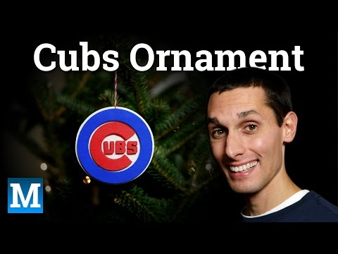 How to Make a Cubs Ornament