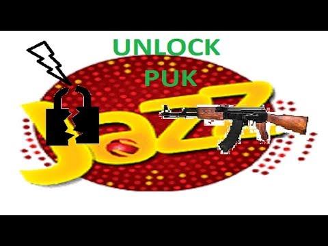 How to Unlock Mobilink Jazz Sim! Unlock PUK code without Sim Jacket
