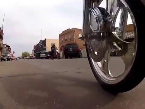 Delta Loop on the Harley Davidson's