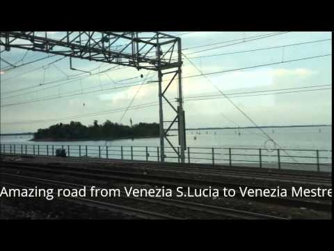 How to get to Venice by train | Как Добраться в Венецию на Поезде. Красота вокруг
