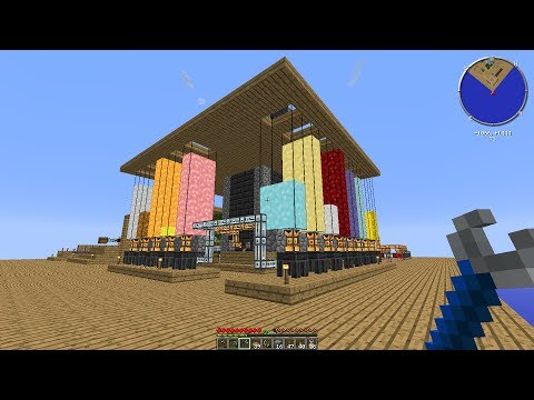 Metal Processing Plant - Agrarian Skies - Minecraft