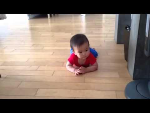 Commando crawling