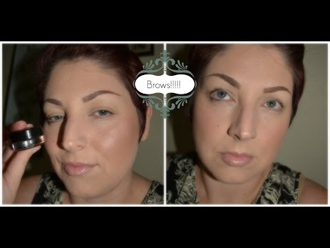 How I fill in my brows using Anastasia Dip Brow, a mini review, and tattoo sleeve show and tell.