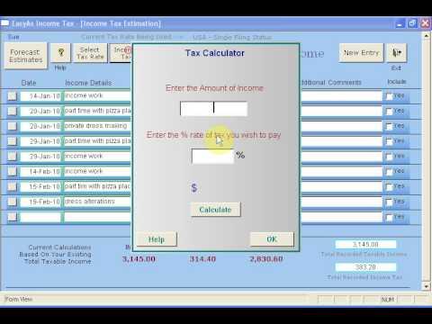 Estimating Income Tax on Average Income