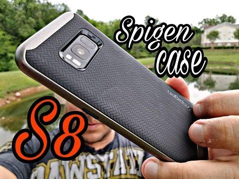 ***Samsung Galaxy S8 - Con el Case SPIGEN NEO HYBRID***