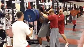 Alabama Running Back Derrick Henry Squats 500 Pounds