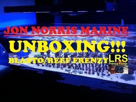 Jon Norris Marine Unboxing!!! (Blasto/LRS Frenzy Food)