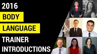 Body Language Trainer Introductions l 2016