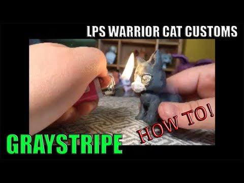 HOW TO MAKE LPS WARRIOR CAT CUSTOMS!