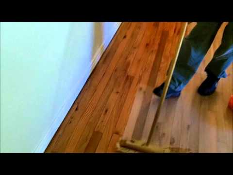 Red Oak Solid Wood Floor Restoration (Full Project)