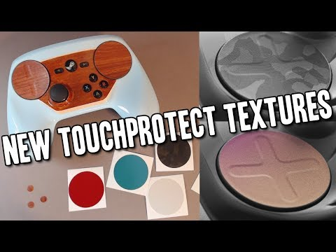 Steam Controller - New TouchProtect - Satin & Mirage