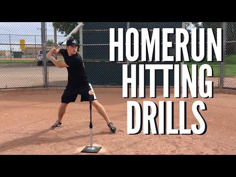 Ultimate Homerun Hitting Drills: Baseball Hitting Drills