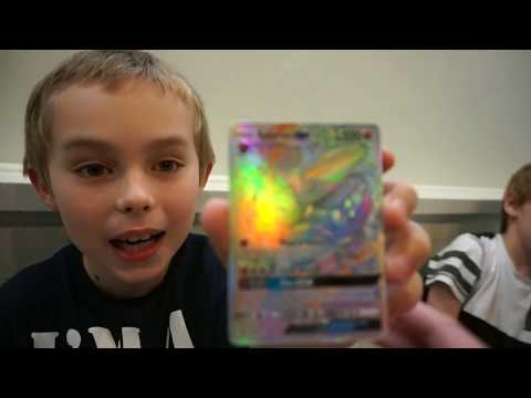 EPIC Pull! Hyper Rare Sylveon GX Pokemon TCG card pulled from a Dollar Tree pack!