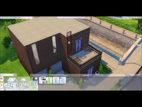 SIMS 4 GUEST HOUSE + GARAGE BUILD!