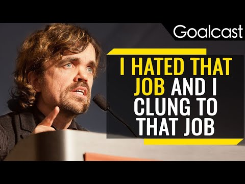 How Do You Find the Moments that Define You?   Peter Dinklage   Goalcast