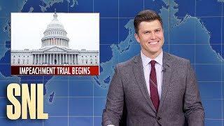 Weekend Update: Impeachment Trial Begins - SNL