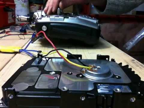 Driving HDD's BLDC motor using RC brushless speed controller