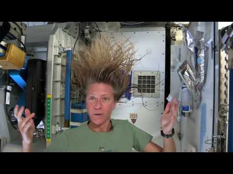 How to wash your hair in space  And How to brush your Teeth in space