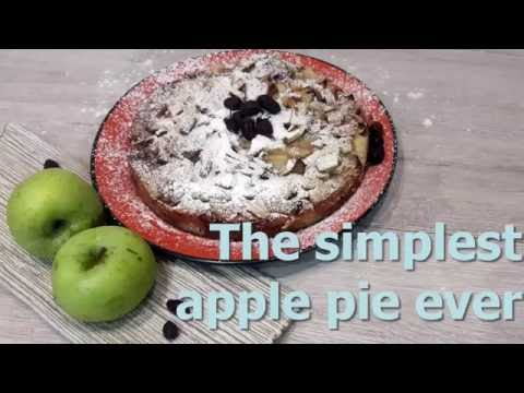 The simplest apple pie ever