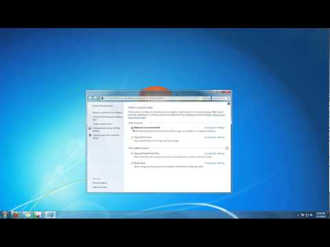 Learn How to Change Power Options in Windows 7 Tutorial