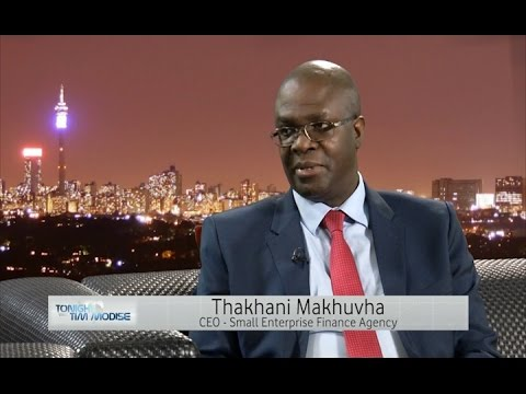IDC - Thakhani Makhuvha, CEO of Small Enterprise Finance Agency talks SMME funding