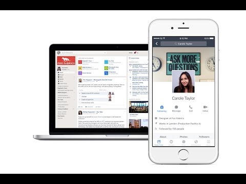 Facebook Workplace 3 Minute Tour