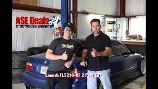 LaunchTech USA TLT210-XT 2 post Automotive Lift from ASE Deals.com