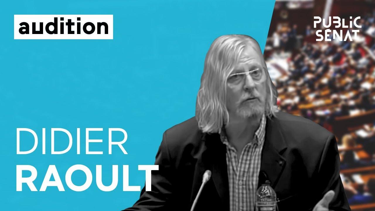 Covid-19 : audition de Didier Raoult devant la commission d'enquête du Sénat [intégrale]