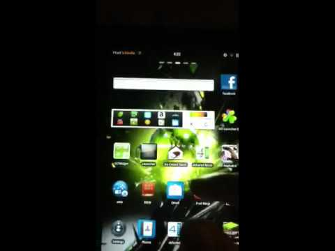 Kindle fire running go launcher ex
