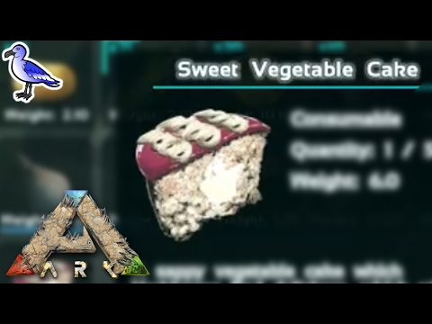 HOW TO MAKE SWEET VEGETABLE CAKE IN ARK