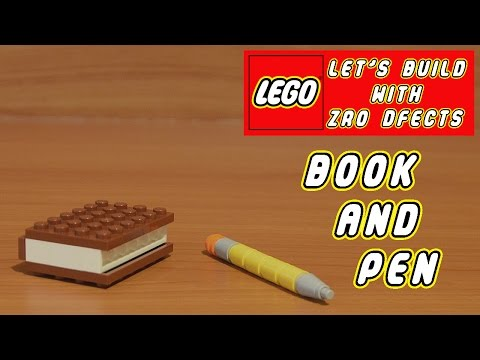 Lego Let's Build - Book And Pen