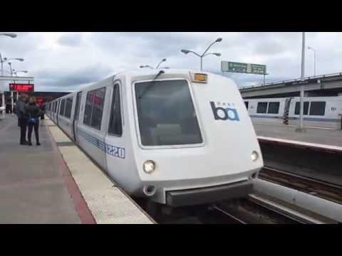 BART MacArthur Station Oakland California Bay Area Rapid Transit