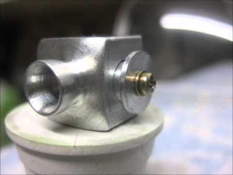Let's make a RC carburetor for an old Enya 09 II model engine