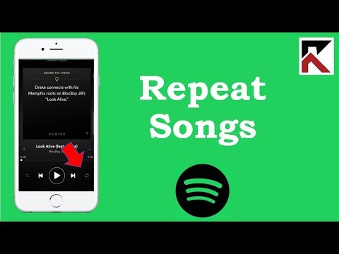 How To Play Songs On Repeat Spotify iPhone