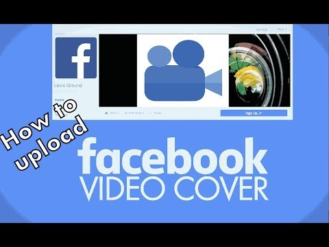 How To Upload Video in Facebook Page Cover Bangla tutorial
