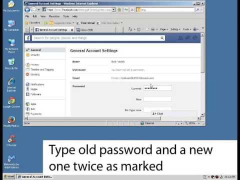 How to reset Facebook password