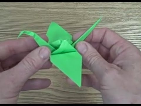 How to make an Origami Crane - 1000 Sadako Paper Peace Cranes