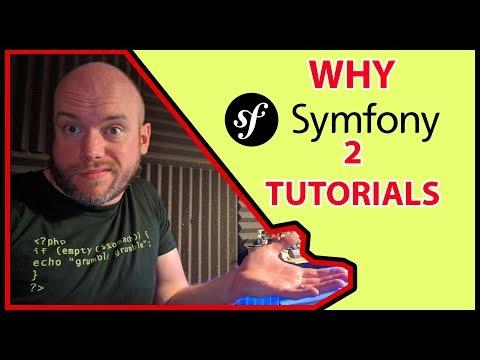 Why Symfony 2 Tutorials