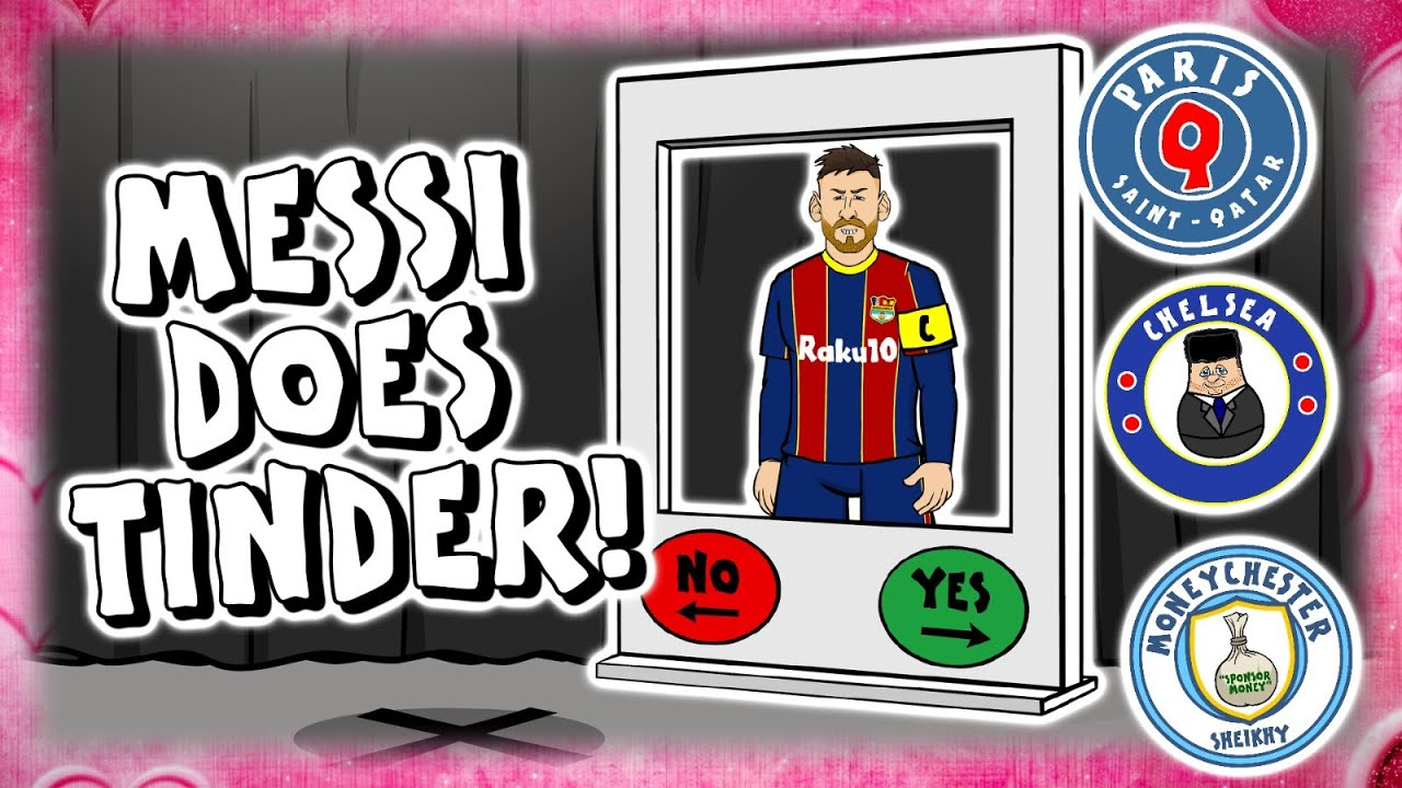 442oons: Messi does Tinder! Where next for Lionel Messi?