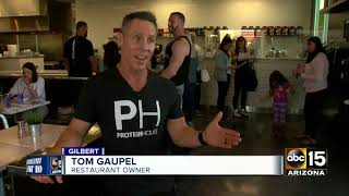 A former Mesa police officer opens new healthy restaurant
