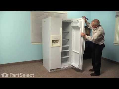 Refrigerator Repair - Replacing the Fresh Food Door Gasket (Whirlpool Part # 2159075/2159083)